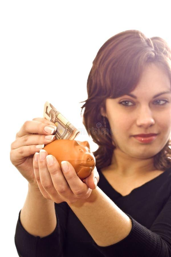 Besparing-doos 6 royalty-vrije stock afbeelding