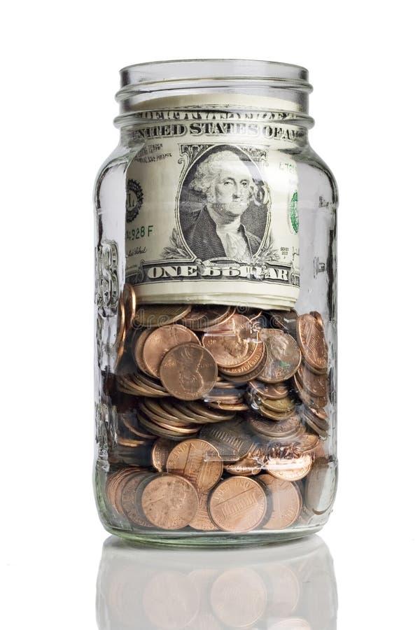 Besparing voor de toekomst royalty-vrije stock afbeeldingen