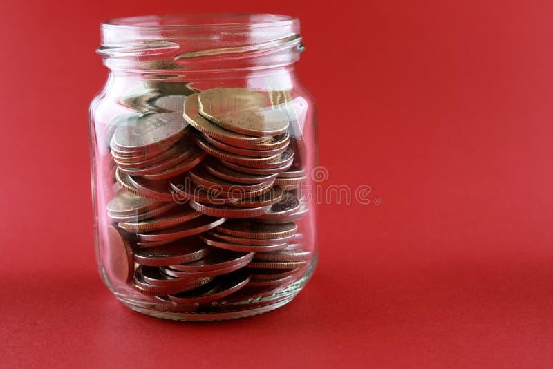 besparingar för begreppsdepositpengar fotografering för bildbyråer