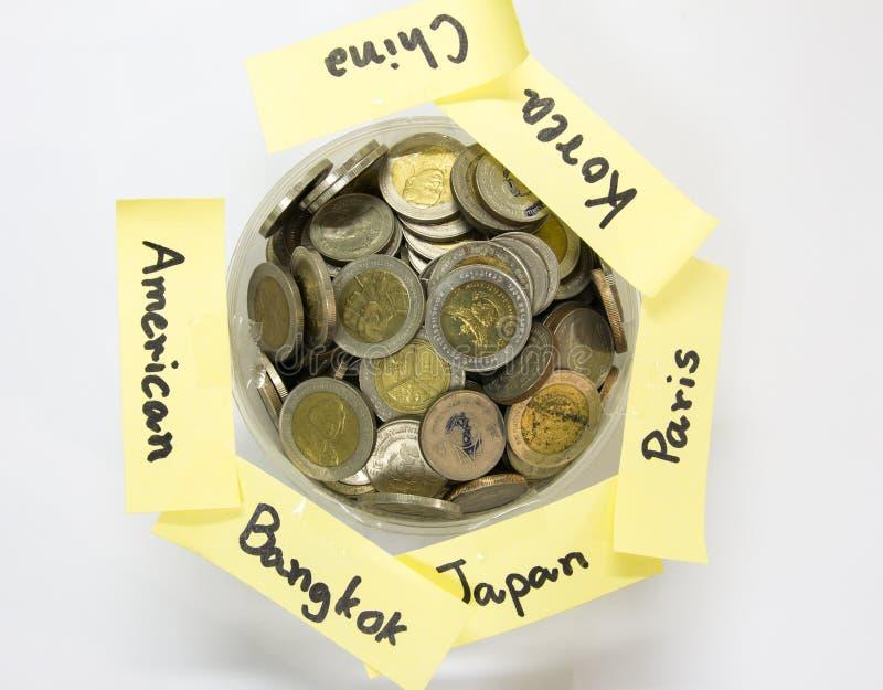 Besparingar för lopp royaltyfri bild