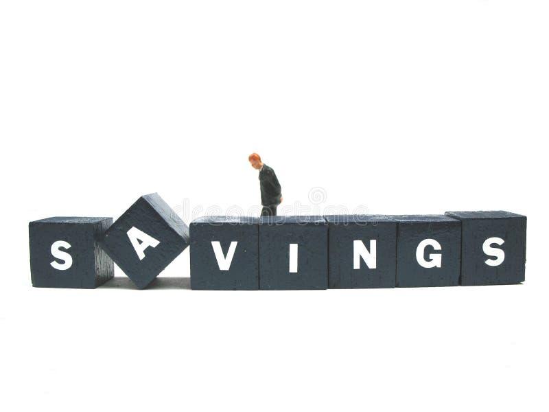 Besparingen royalty-vrije stock afbeeldingen