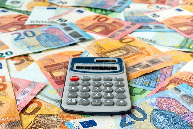 Besparingen, financiën en economieconcept stock fotografie