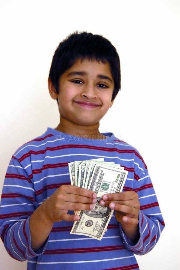Besparingen in geld royalty-vrije stock foto's