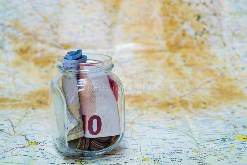 Besparingen voor Reis stock afbeelding