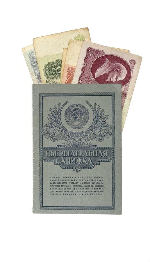 Besparingtider av USSR royaltyfria bilder