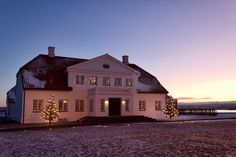 Download Bessastadir, Iceland stock image. Image of lawn, residence - 18849671