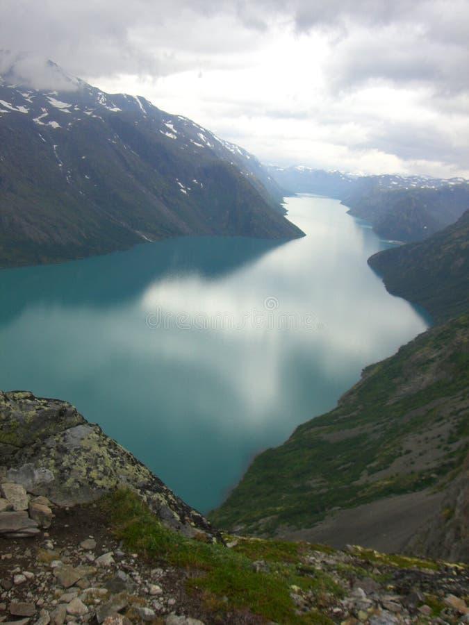 Besseggen Норвегия стоковое изображение