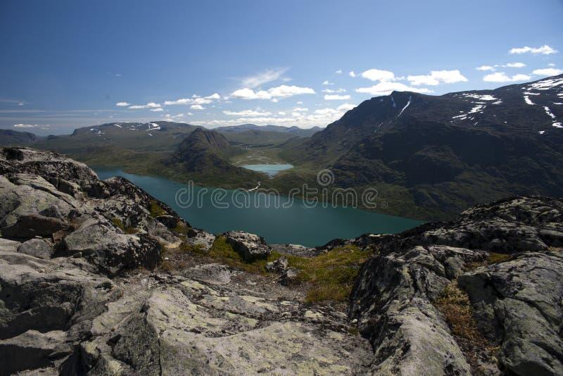 Download Besseggen Grań W Jotunheimen Parku Narodowym Zdjęcie Stock - Obraz złożonej z błękitny, scandinavia: 53783556