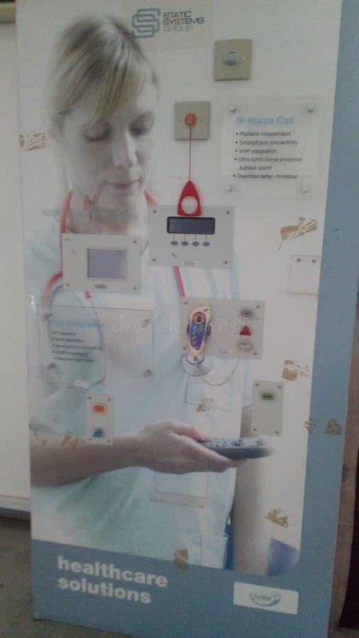 Bessere zukünftige Note des Krankenhausgebrauches stockbilder