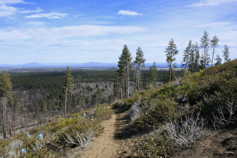 Bessie Butte Trail royalty free stock photos