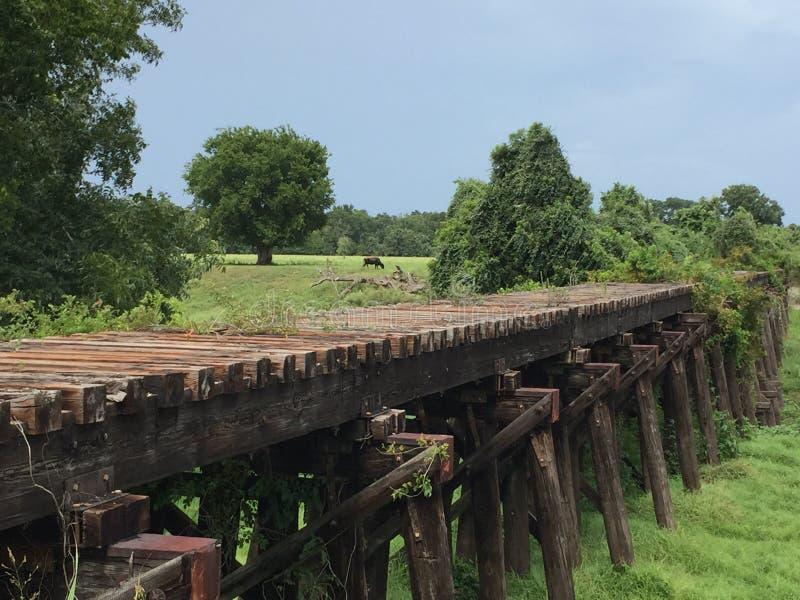 Bessie& x27;s Creek Bridge royalty free stock image