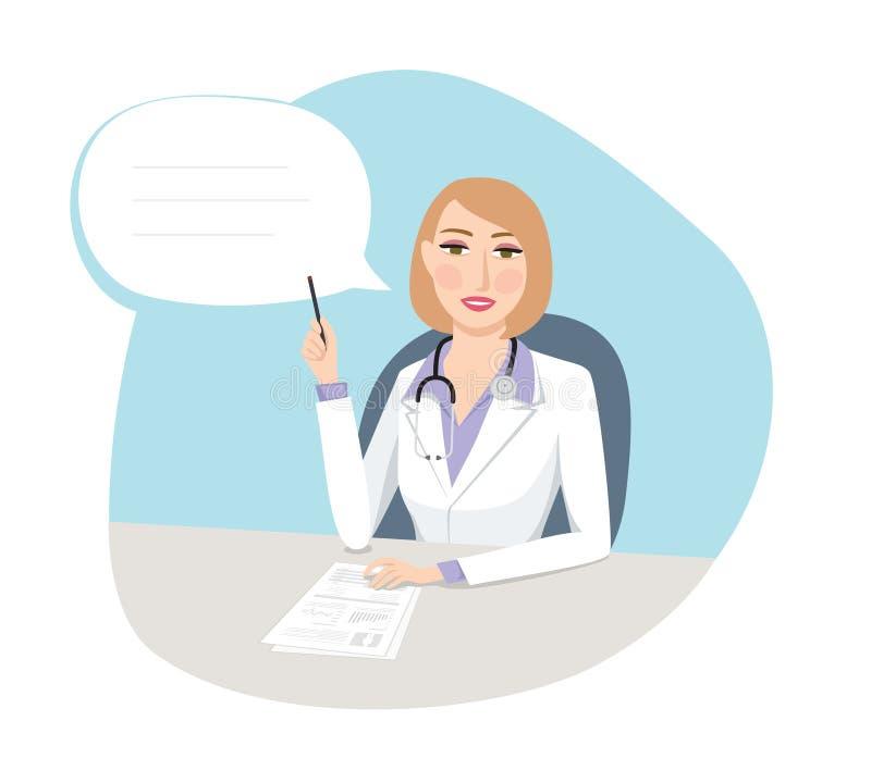 Beställningar för doktors` s - medicinskt begrepp royaltyfri illustrationer