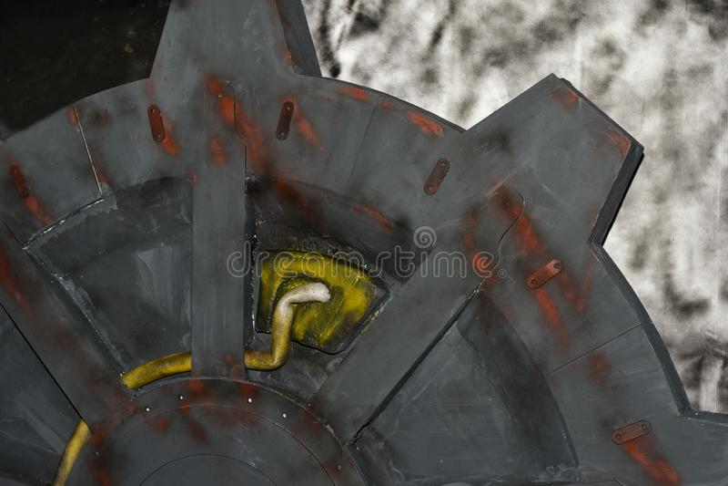 Beståndsdel av en utstrålningsreaktor i en dataspel arkivbilder