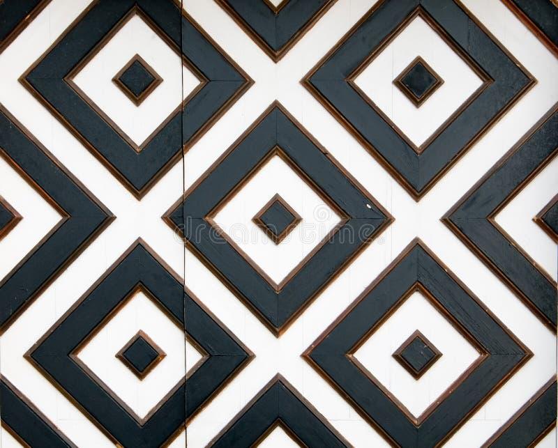 beståndsdel av svartvita fyrkanter fotografering för bildbyråer