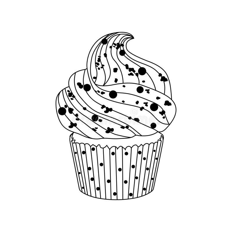 Download Beståndsdel För Design För Vektorkakasymbol Vektor Illustrationer - Illustration av läckert, diagram: 78728913