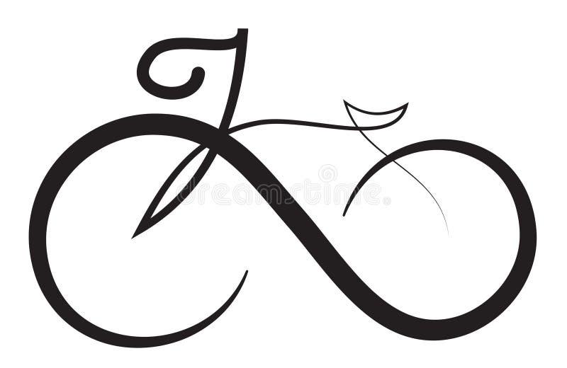 Beståndsdel för design för logo för oändlighetscykelsymbol vektor illustrationer