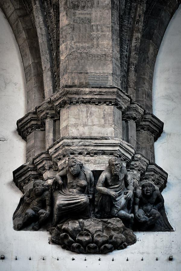 Beståndsdelar av italiensk arkitektur royaltyfri foto