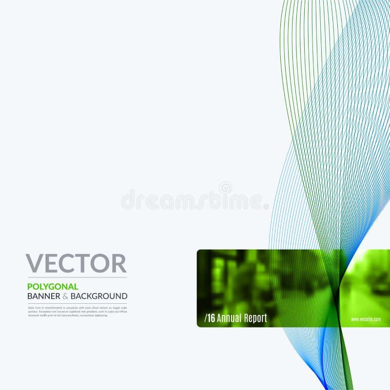 Beståndsdelar för affärsvektordesign för grafisk orientering Modern abstr royaltyfri illustrationer