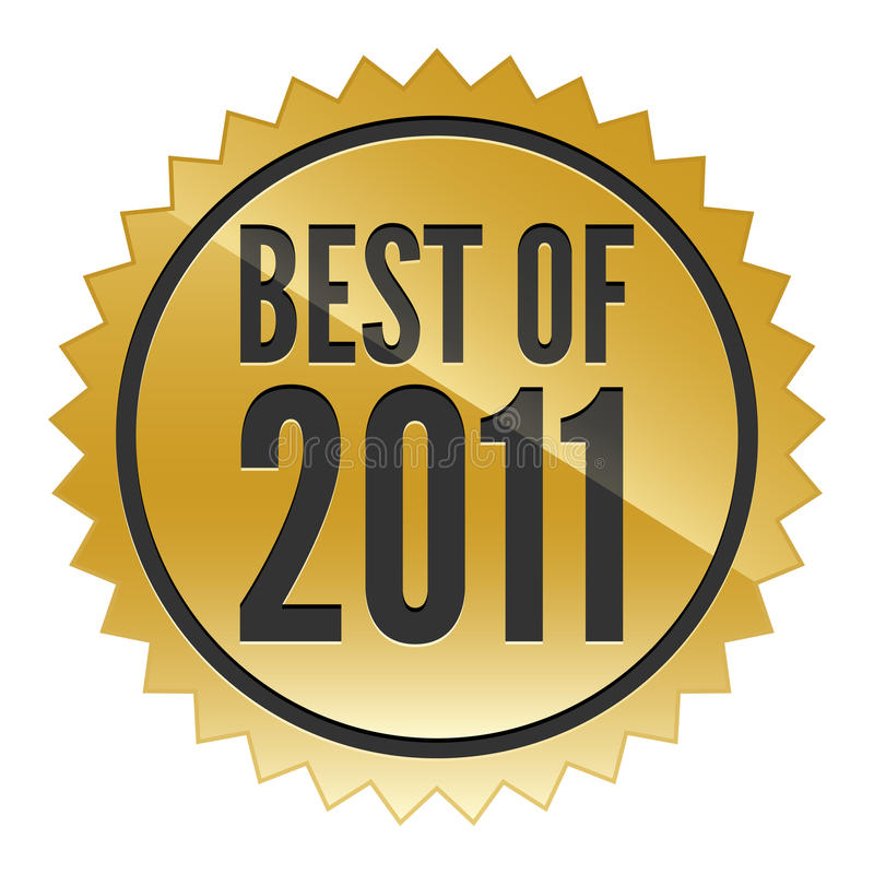 Download Best of 2011 Sticker stock vector. Illustration of review - 22054662