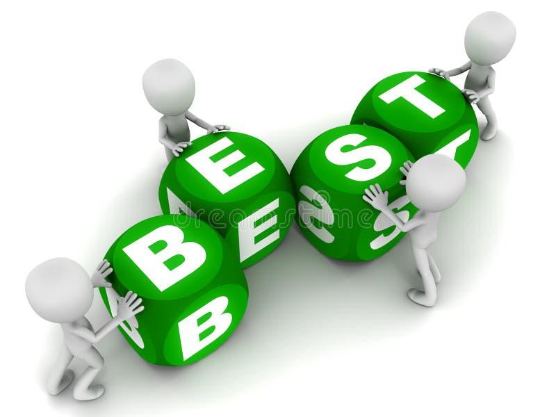 Download Best stock illustration. Image of block, teamwork, cute - 29082884