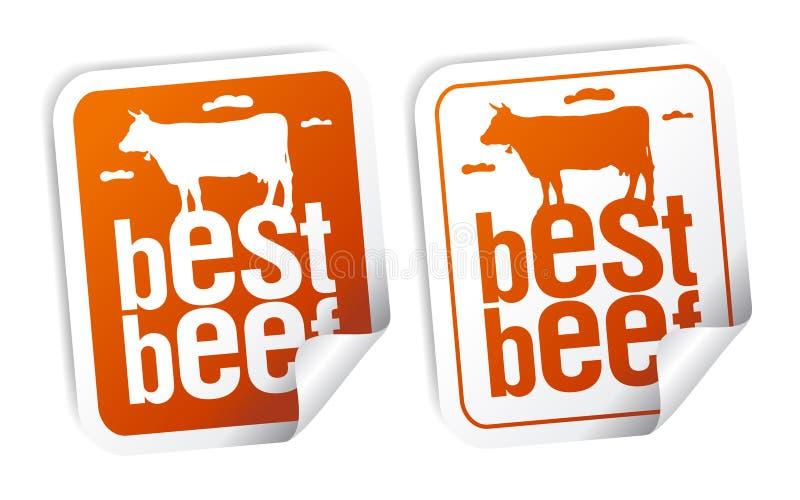 Download Best beef stickers stock vector. Illustration of food - 17825329