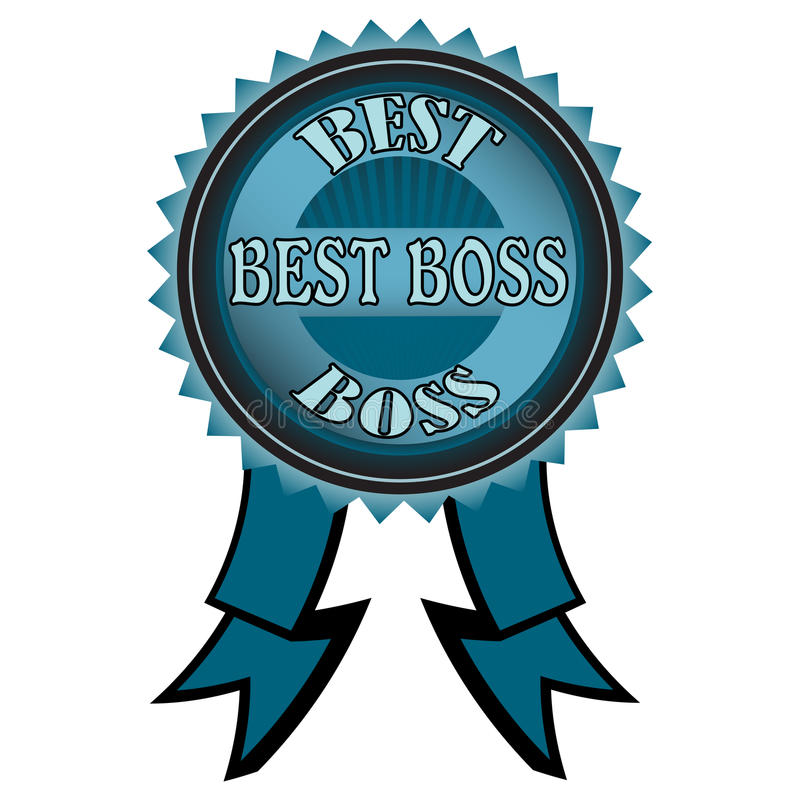Download Best boss badge stock vector. Illustration of boss, organizer - 20618175