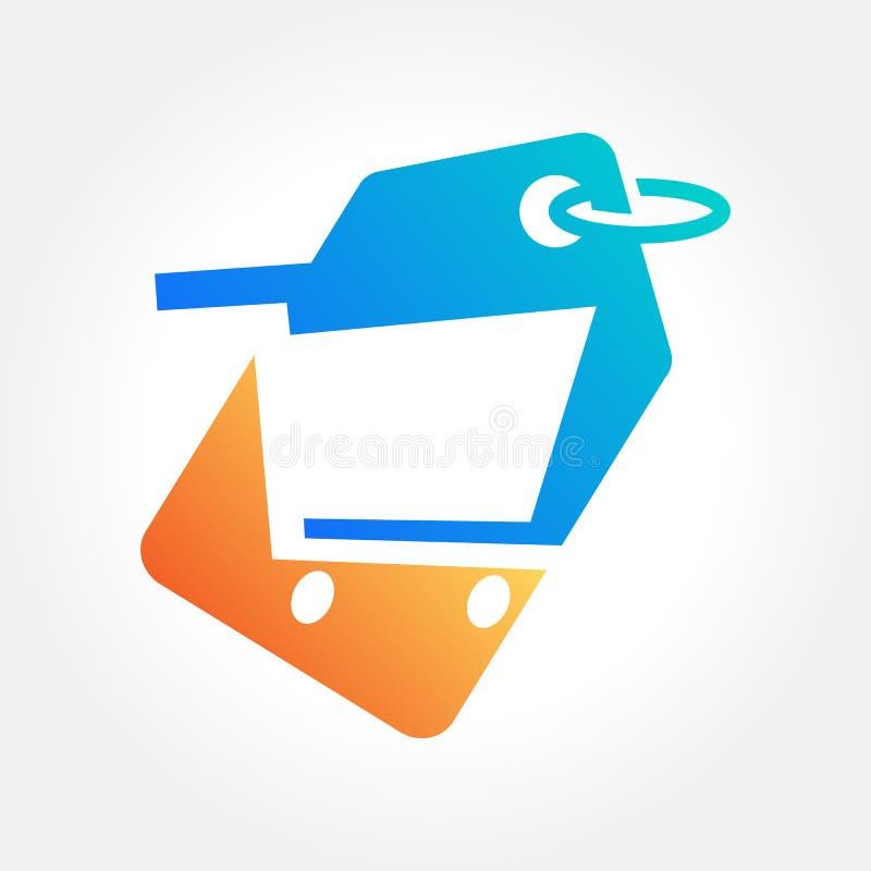 Best Buy, gran venta, concepto de diseño en línea de las compras, ejemplo del vector libre illustration