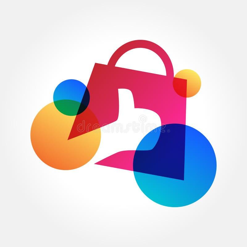 Best Buy, gran venta, concepto de diseño en línea de las compras, ejemplo del vector stock de ilustración