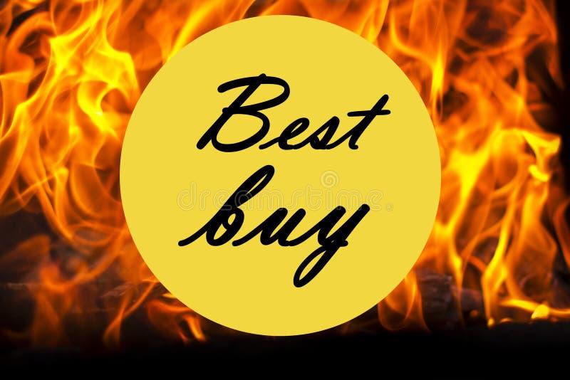 Best Buy symbol royaltyfri illustrationer