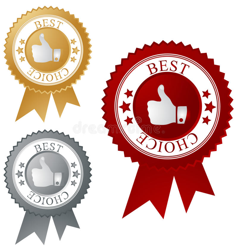 Download Best Choice Label Royalty Free Stock Images - Image: 15438429