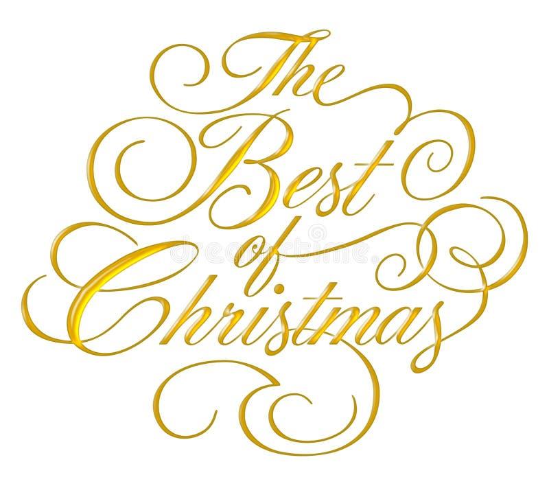 Best of Christmas Script stock photos