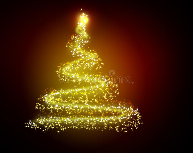 Download The Best Christmas Tree Background With Reflection Stock Photos - Image: 10999693