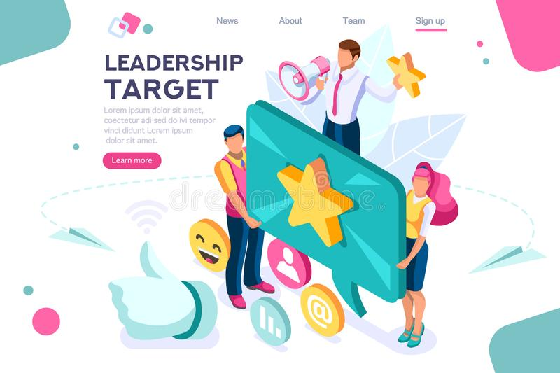Best Conceptual Hand Show Target royalty free illustration