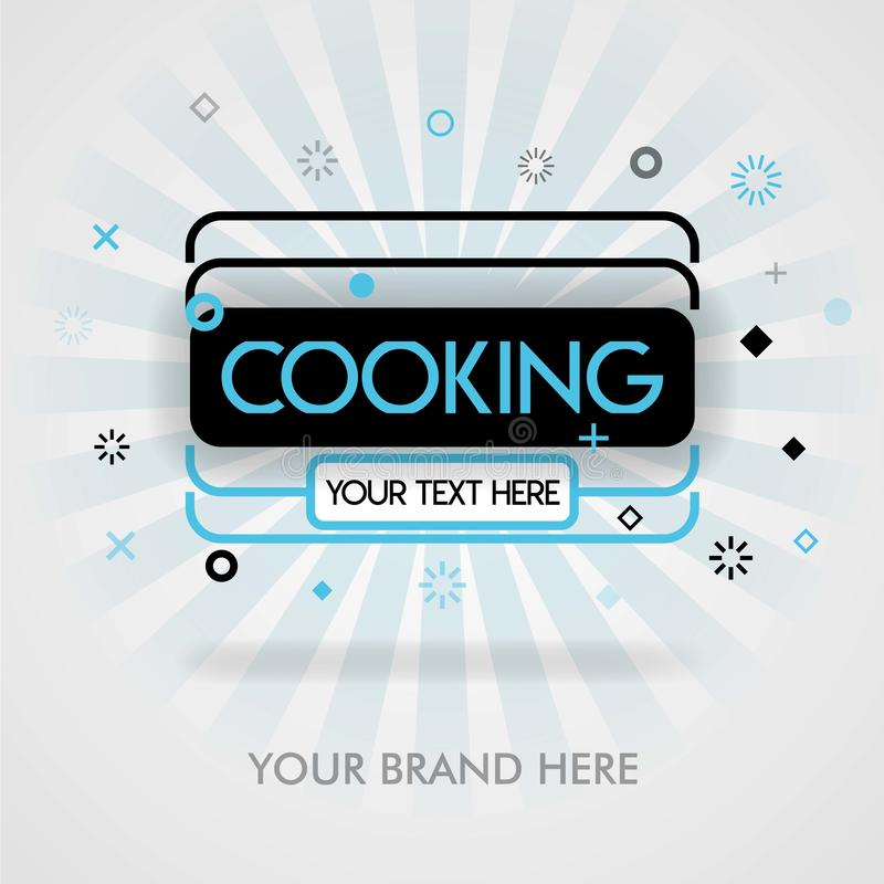 Best cooking cover page. american cooking cookbook. best cooking page. can be for advertising, ads, marketing. suitable for print,. Newspaper, cover, magazine royalty free illustration