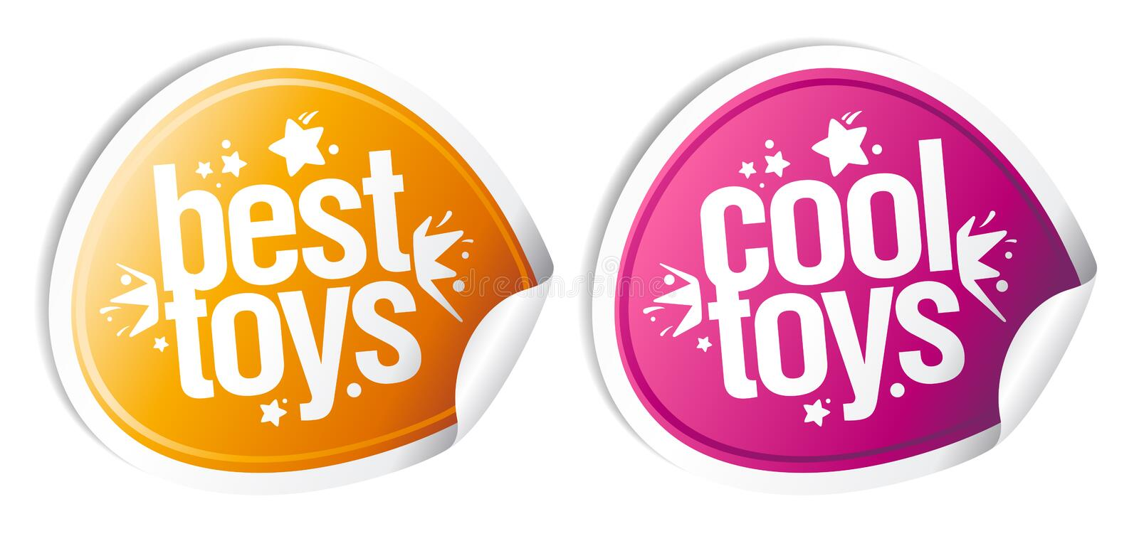 Best cool toys stickers.