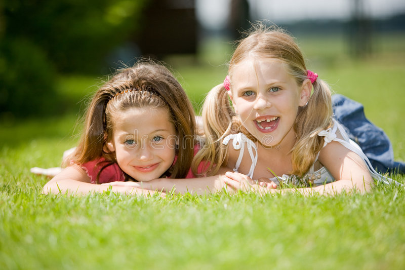 Best friends royalty free stock photo