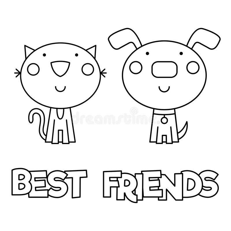Free Best Friend Coloring Page, Download Free Clip Art, Free Clip ... | 800x800