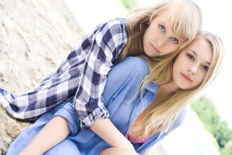 Download Best friends forever stock image. Image of friendly, smiling - 27975919