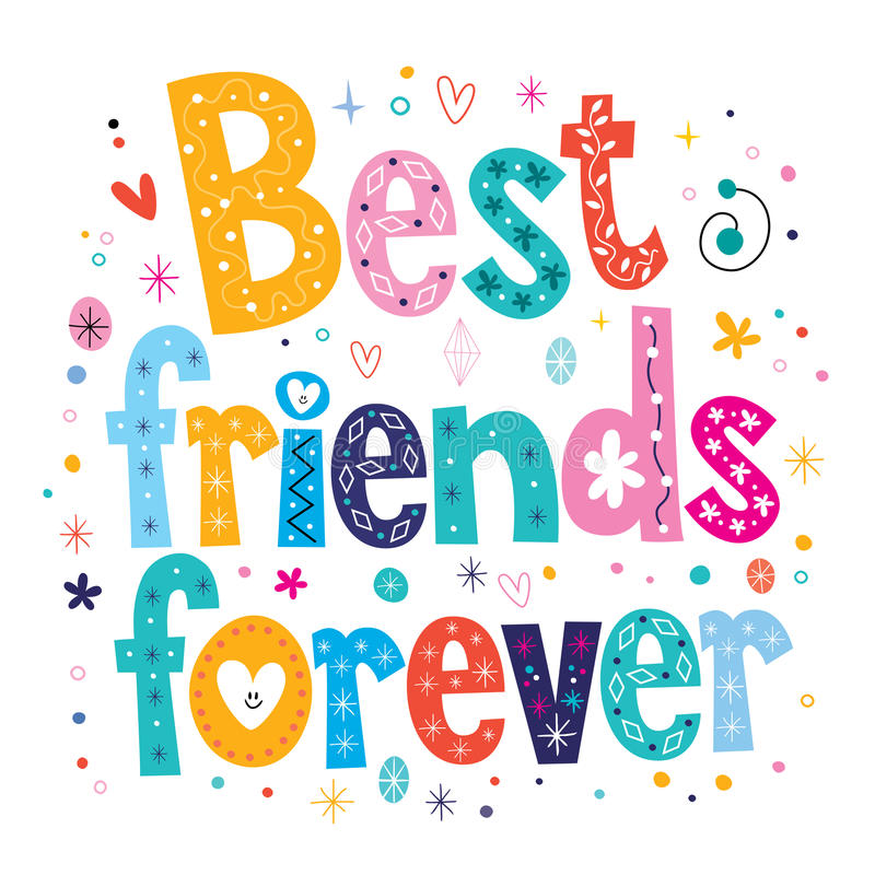 Free Best Friends Forever Stock Images - 53483744