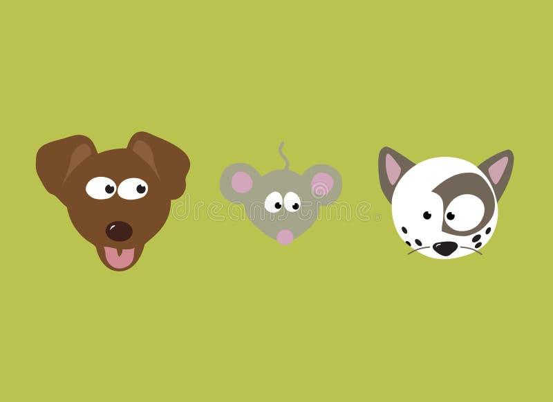 Download Best Friends Set stock vector. Illustration of face, comic - 9987229
