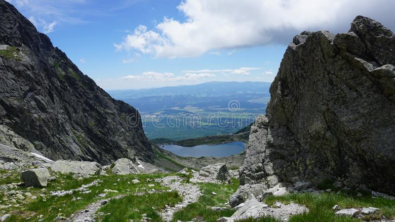 The best of the high Tatras mountains royalty free stock images