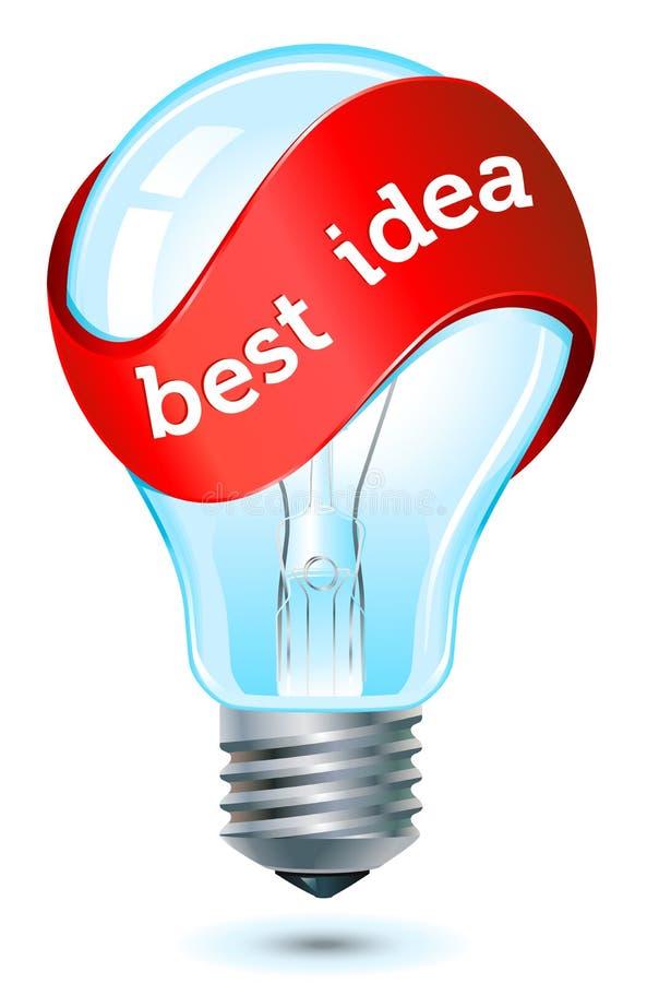 Best idea icon stock illustration