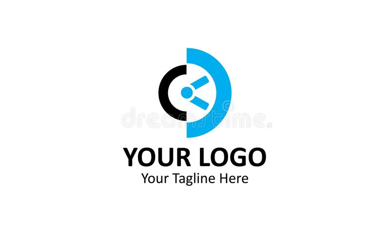 Best industrie logo contruction building. This one Elegant logo for Best industrie logo contruction building and business, you can used this logo for ads your royalty free illustration