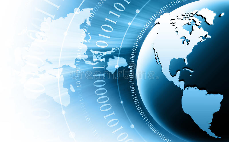 Best Internet Concept of global business from conc stock illustration