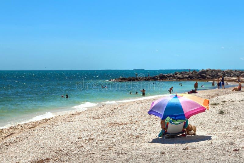 Best Key West beach, Florida. royalty free stock photos
