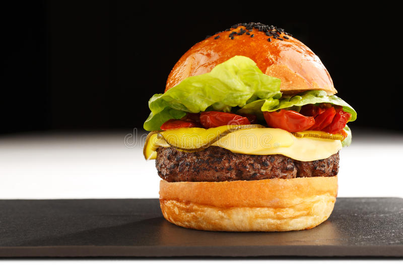 The Best Known Fast Food Of America Stock Photo