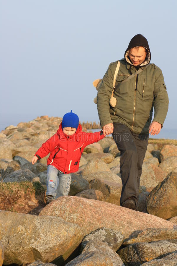 Download Best Mates - Father And Son Stock Photo - Image: 15447112