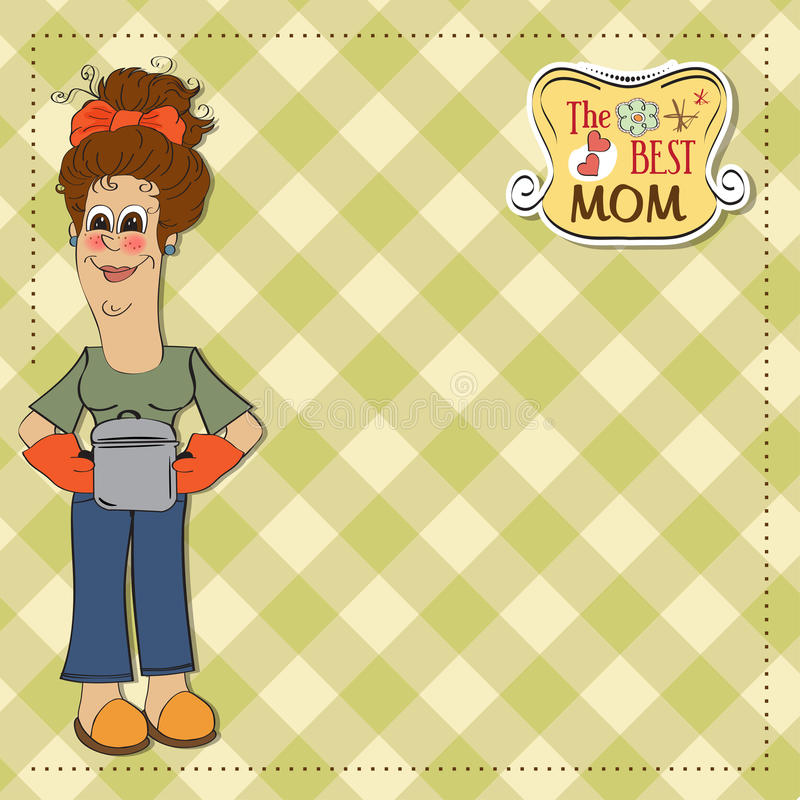 Download The best mom stock illustration. Image of fresh, beautiful - 24938577