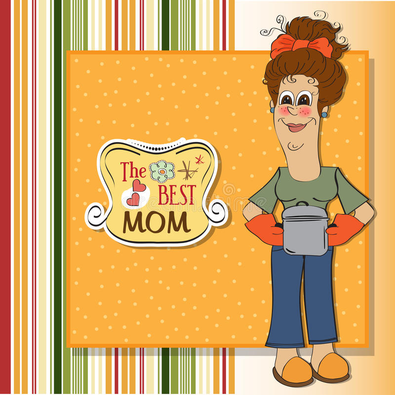 Download The best mom stock illustration. Image of nutritious - 24938581