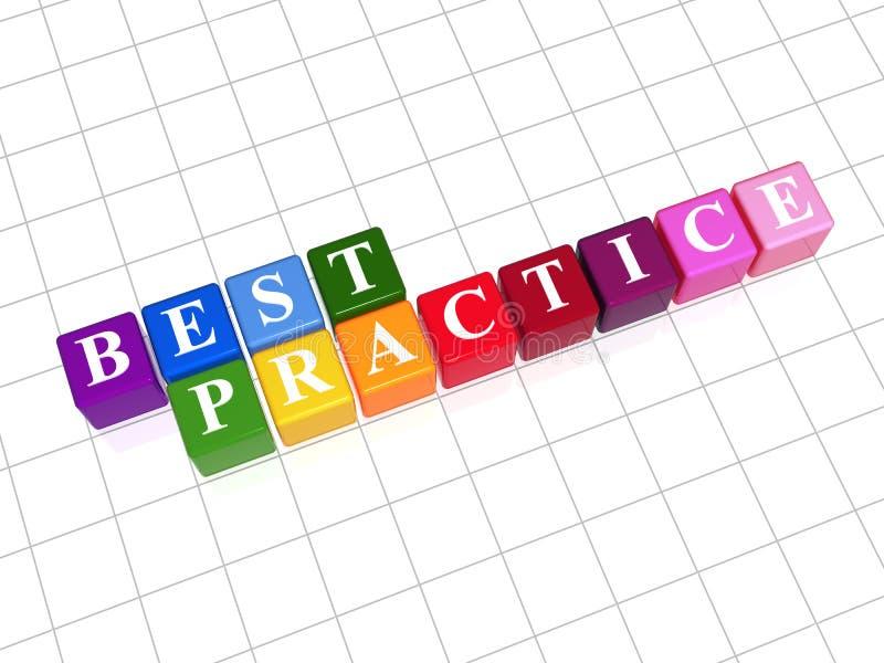 Download Best practice stock image. Image of gradient, blue, manner - 24770825